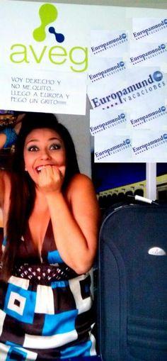 Concurso: Por tu Cara Bonita  Frase: Voy derecho y no me quito...LLEGO A EUROPA Y PEGO UN GRITO!!!  Concursante: Sonia Mora Quito, Madrid, Pageants, Pretty Face, Law, Europe, Faces