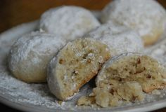 Pati Jinich » You Say Mexican Wedding Cookies, I Say Polvorones