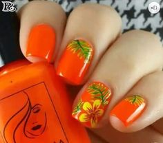 Emiliana Archive Possible Danger Signs On Vacation Nails Beach Tropical You Must Know About 57 At, # Hawaiian Flower Nails, Tropical Flower Nails, Tropical Nail Art, Flower Nail Designs, Flower Nail Art, Nail Designs Spring, Nail Art Designs, Beach Nails, Beach Vacation Nails