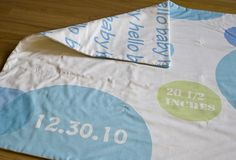 Baby Boy gift using Spoonflower - design your own fabric