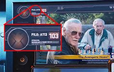 """In The Avengers, you can spy as a file name. This is a nod to the CalArts animation classroom where many Pixar animators studied. 21 Details From Marvel Movies That'll Make You Say, """"How Did I Not Notice That? Nick Fury, Bruce Banner, Stan Lee, Marvel Characters, Marvel Movies, Tony Stark, Thor Comic Book, Amazing Fantasy 15, Memes Marvel"""