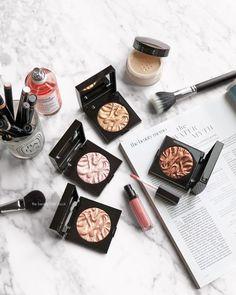 The Beauty Look Book: Laura Mercier Face Illuminator Powders - Devotion, Indiscretion, Addiction and Seduction