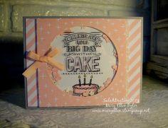 Stampin' Up!, SaleABration, Big Day stamp set, Irresistibly Yours DSP, window sheets, Mary Ellen Byler