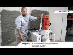 Maltech M5-EVO - Plastering machine