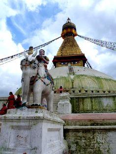 Boudha Stupa . Nepal