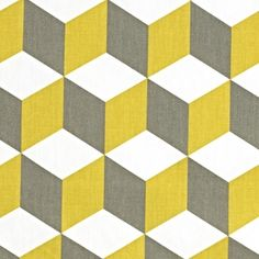 Cube Fabric Collection by Prestigious Textiles is a stylish range of geometric designs on simple cotton curtain fabric. Grey Home Decor, Home Decor Fabric, Geometric 3d, Geometric Designs, Cotton Curtains, Curtain Fabric, Wall Patterns, Quilt Patterns, Quilting Ideas