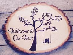 Handcrafted by myself. I do all the woodburning by hand.    This particular piece is not for sale, I will custom design your order! I can recreate this design or do something similar. Basically I can do any design you can think of! Ill send you a proof of the design first to make sure you approve.    This is the perfect gift for weddings, housewarming, birthdays, holidays, etc.    I can do custom orders, anything you can think of! Convo me . . . or you can email me at manda_lazar [!at]…
