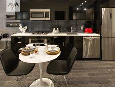 East55 Showroom Kitchen. AyA Kitchens | Canadian Kitchen And Bath Cabinetry  Manufacturer | Kitchen Design