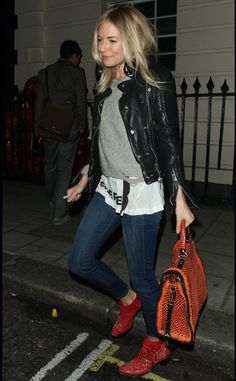 Sienna Miller style.