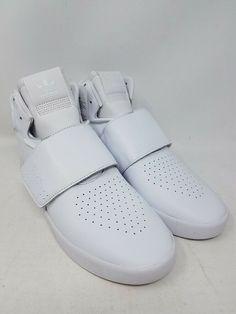 622c5276c753 ADIDAS TUBULAR INVADER STRAP WHITE BW0872 ATHLETIC SNEAKERS MEN S SIZE 10  WOB  fashion  clothing