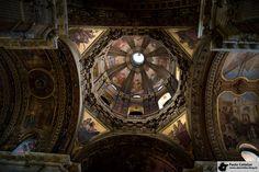 Teto da Igreja da Candelária - The ceiling of Candelaria Church.