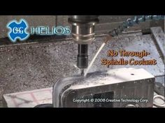 OSG's high speed steel-cobalt HELIOS® drill features new patented technology that gives it the ability to process deep holes without the use of internal coolant supply.