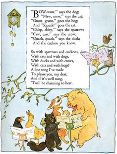 Cute Printable Rhymes   Welcome to Dover Publications