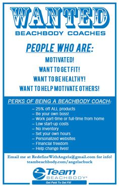 Want to save money on your favorite workout programs, make money, get healthier & fit, and do it all from home?!!! Ever thought about becoming a Beachbody coach? The sky's the limit! If you're interested in finding out more about this awesome opportunity, email me at  redefinewithangela@gmail.com. I would love to chat with you! (no high pressure sales pitches, only info for you.) #redefine #redefinewithangela #health #healthy #nutrition #fitness #career #job…