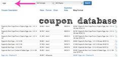 Coupon Database