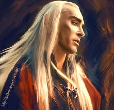 When ever I read the books I always picture Thranduil as looking like this. He's so stinking cool