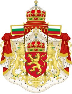 CoA Tsardom of Bulgaria (Consulate) by TiltschMaster on DeviantArt International Flags, Family Crest, Deviantart, Crests, Coat Of Arms, Art And Architecture, Herb, Badge, Projects To Try