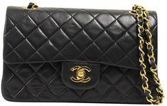 280579f8edd7 CHANEL 'Jumbo' Double flap Bag in Black Smooth Lamb Leather   It Figures   Chanel  jumbo, Bags, Chanel