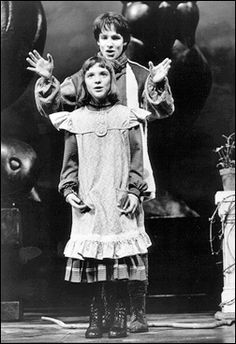 John Cameron Mitchell Daisy Eagan In The Secret Garden On Bway Saw This When I Was 9 And Its Still My All Time Favorite Musical