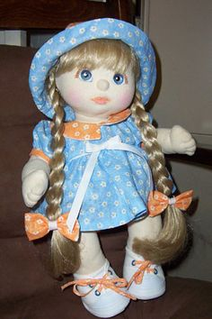 Vintage My Child doll.