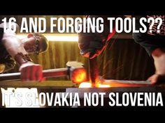 16 Year old Blacksmith Forging Tools?? - YouTube