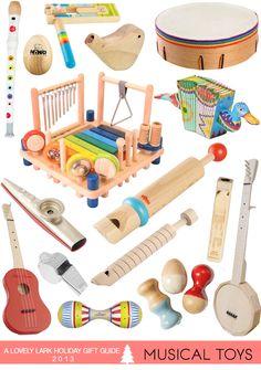 A Lovely Lark: Holiday Gift Guide 2013: Musical Toys