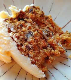 Carrot Cake! The BEST Recipe ever!