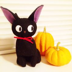 Black Cat doll Cat Doll, Handicraft, Pikachu, Dolls, Cats, Handmade, Fictional Characters, Collection, Black