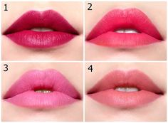 Korean lip colors สีลิปยอดฮิตของสาวๆ เกาหลี