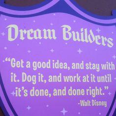 The great walt Disney!