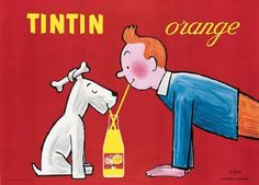 I love TinTin and snowy and some good old blatent advertising