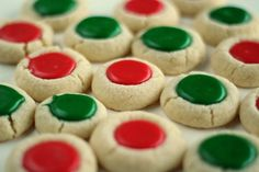 Sugar Thumbprint Cookies
