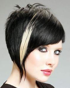 Asymmetrisches kurzes Haar 2018 - 33 Haute Short Hairstyles & Haircuts