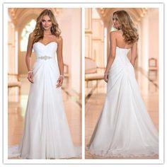 Wedding Dress, Cheap Wedding Dress, Simple Wedding Dress, Sweetheart Wedding Dress, Hot Sale Wedding Dress, A-Line Wedding Dress, Floor-Length Wedding - Thumbnail 2