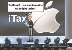 Apple's 'innovative' tax avoidance techniques have allowed the company to stash over $110 billion of profits into offshore tax havens, leaving you to pick up the bill for the $36.4 billion its avoided in U.S. taxes. http://bit.ly/1wfu3W7