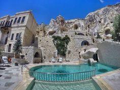 Best Yunak Evleri Cave Hotel Dit sterren hotel is volledig uit een berg gehakt