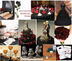 Fall, Thanksgiving and Halloween Themed Wedding Ideas
