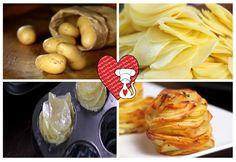 Ricette e Segreti in Cucina : Ricette San Valentino - Millefoglie di patate al f...