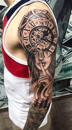 Enchanting Tattoo Sleeve Concepts For Male - josh-hutcherson Cool Arm Tattoos, Dope Tattoos, Body Art Tattoos, Hand Tattoos, Tattoos For Guys, Tattoos Masculinas, Tattoos For Women Half Sleeve, Best Sleeve Tattoos, Tattoo Sleeve Designs