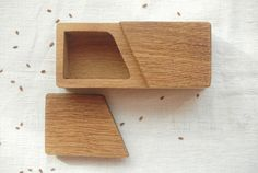 Wooden Spice Box ,Spice Holder Wood, Salt and Spice Box,Wood Box