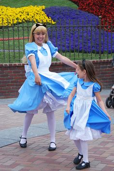 I will be Alice in Disney World or Disneyland one day. Walt Disney World, Disney Parks, Disney Love, Disney Magic, Disney Stuff, Disney And Dreamworks, Disney Pixar, Disney Face Characters, Vanellope