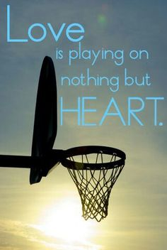 Sports isn't about playing to win, even though that is a great thing to accomplish, it's about doing what you love and loving what you do. I don't play to win I play because it makes me happy, it's a certain happiness I get in my heart that I don't get from anything else.