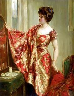 Talbot Hughes - The New Dress