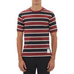 Thom Browne Border-Stripe Shirt at Barneys.com 2bdd8b35b07