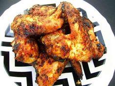 Orientalne skrzydełka z kurczaka z miodem