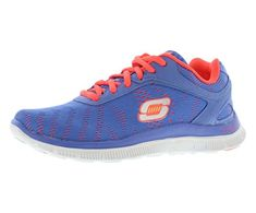 low cost 3b7a6 3e314 Skechers Womens First Glance Running Shoe Periwinkle 11 M US  You can  find
