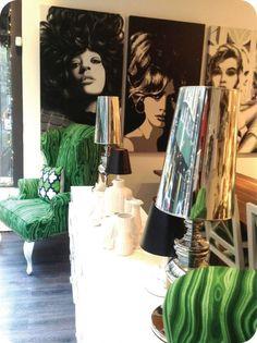 Malachite at Mod Shop, NYC! Custom Modern Art :: Room Service