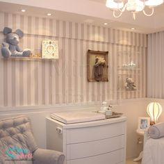 Papel de parede infantil e casa Listrado  - CTP889011 | Listrado,  Listras tons de bege com brilho perolado