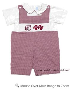 Mississippi State University Shortall Baby Pinterest