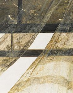 Andrew Wyeth - Wind from the Sea (1947), detail.